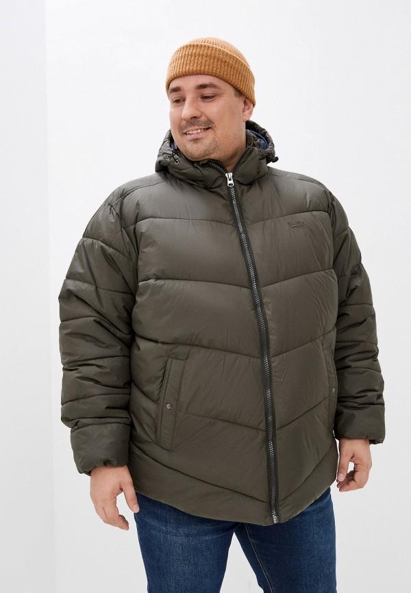 мужская куртка replika jeans, хаки