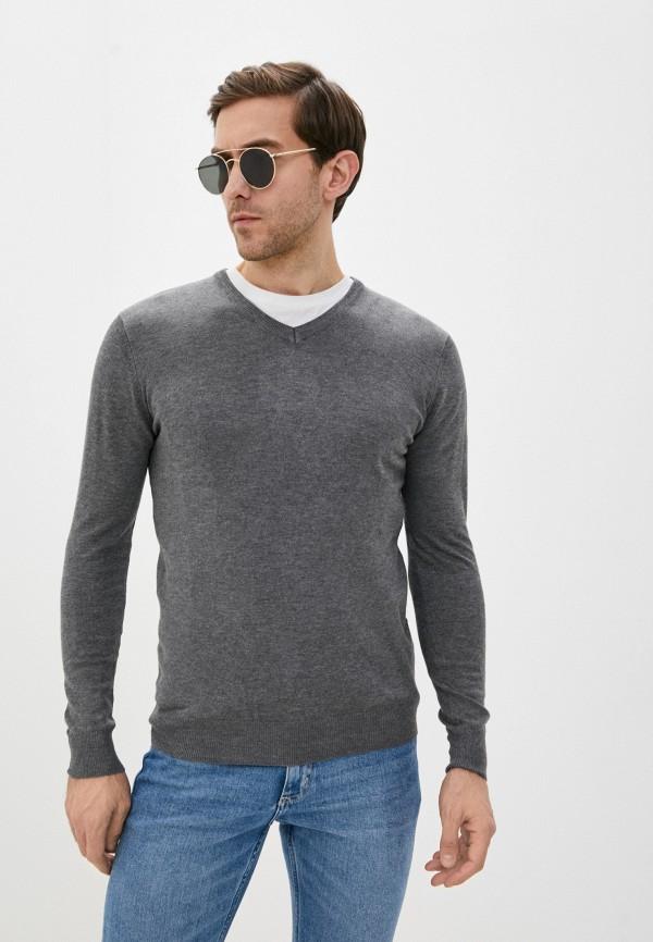 мужской пуловер rekuait, серый