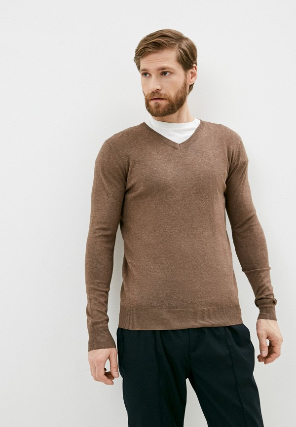 мужской пуловер rekuait, коричневый