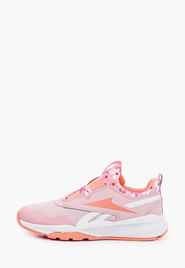 кроссовки reebok для девочки, розовые