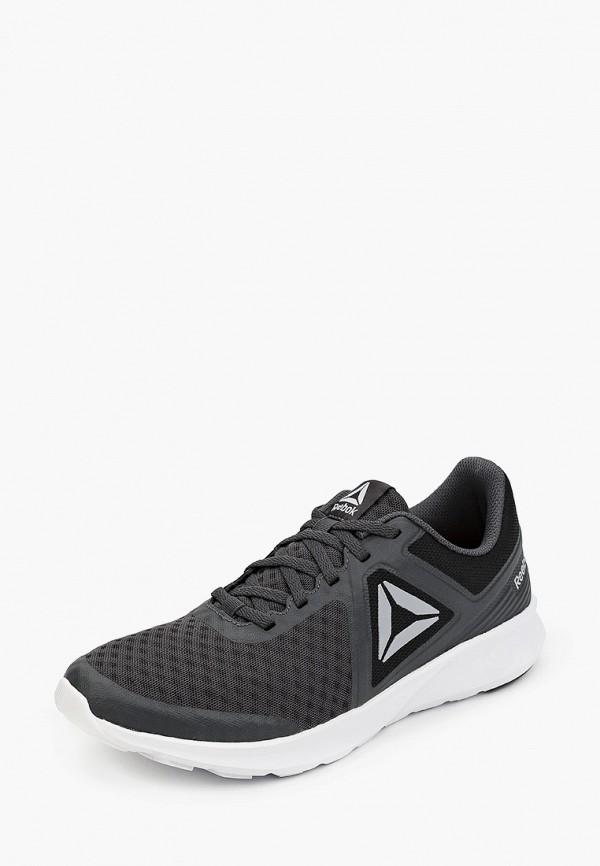 Фото 2 - мужские кроссовки Reebok серого цвета