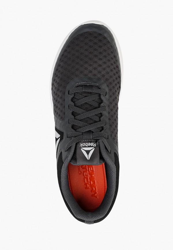 Фото 4 - мужские кроссовки Reebok серого цвета