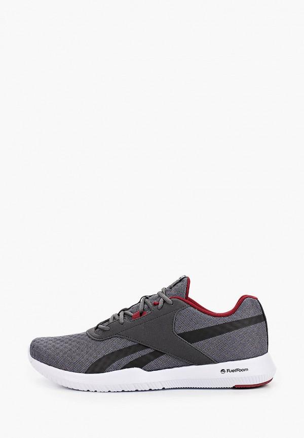 мужские низкие кроссовки reebok, серые