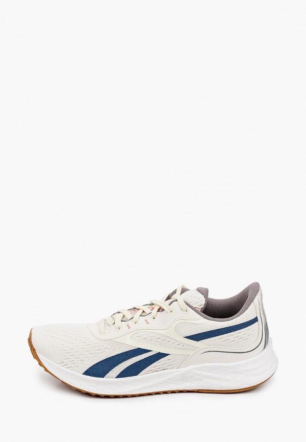 мужские кроссовки reebok, бежевые