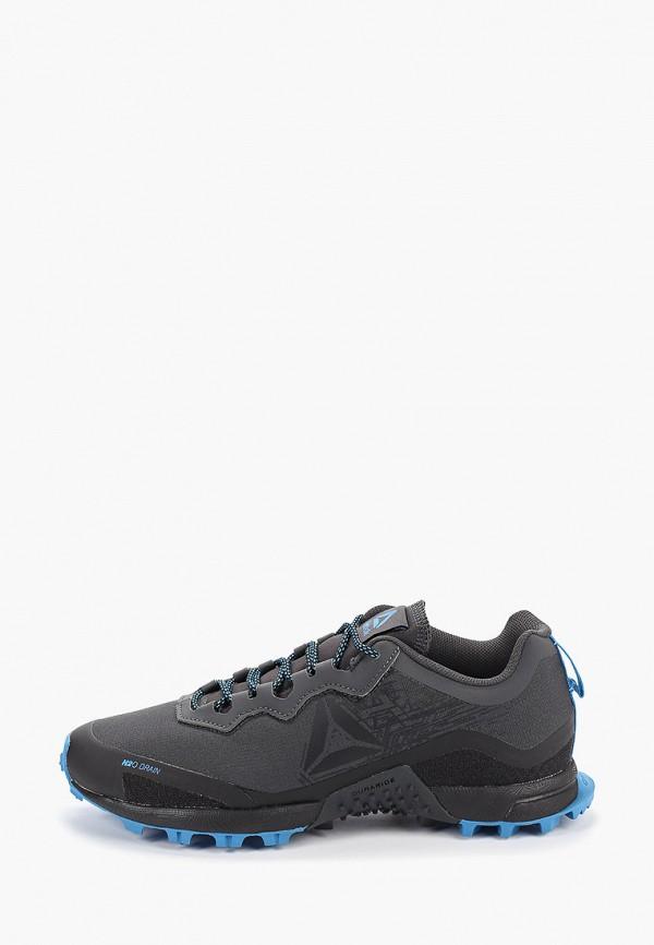Купить женские кроссовки Reebok серого цвета