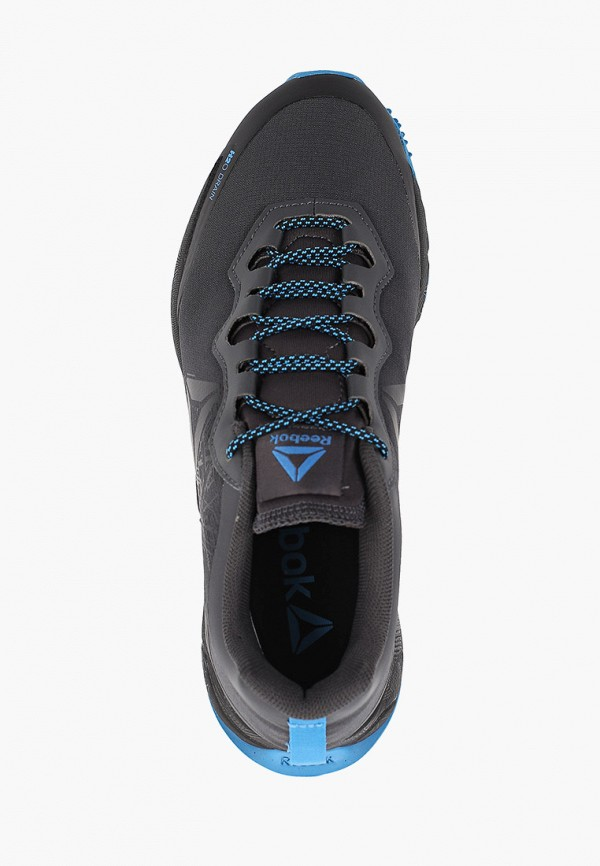 Фото 4 - женские кроссовки Reebok серого цвета