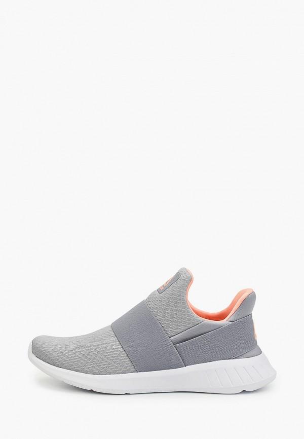 Фото - женские кроссовки Reebok серого цвета