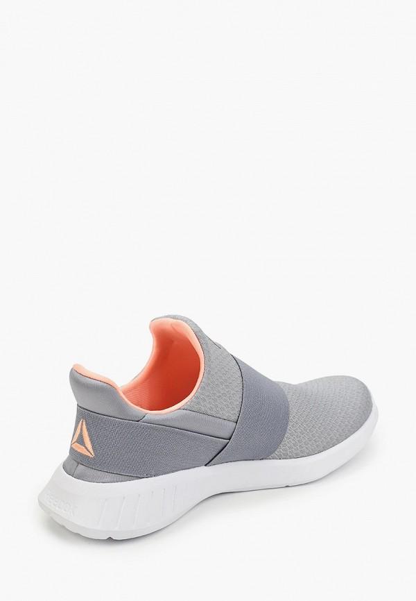 Фото 3 - женские кроссовки Reebok серого цвета