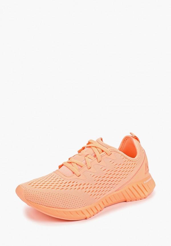 Фото 2 - Женские кроссовки Reebok розового цвета