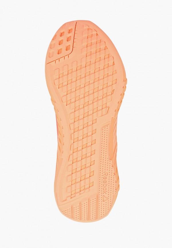 Фото 5 - Женские кроссовки Reebok розового цвета