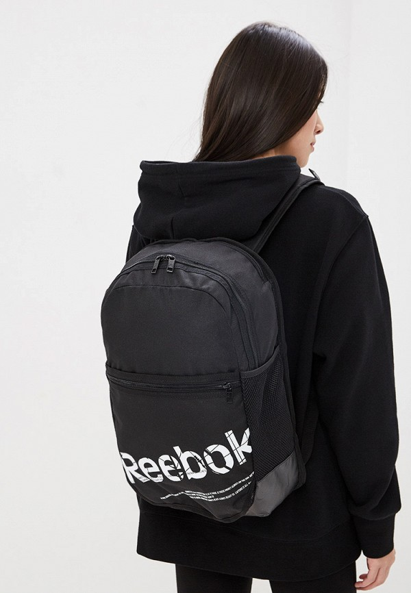 Фото 4 - Мужской рюкзак Reebok черного цвета
