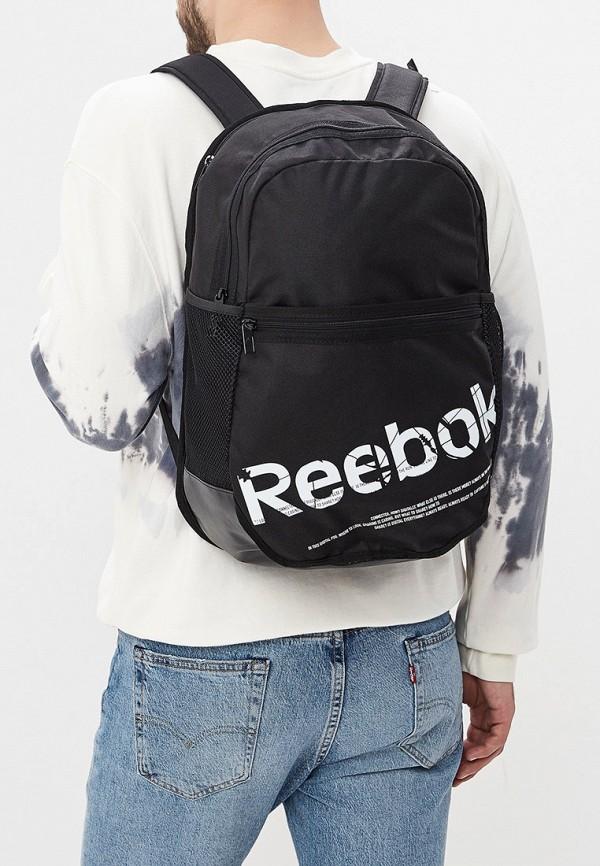 Фото 5 - Мужской рюкзак Reebok черного цвета