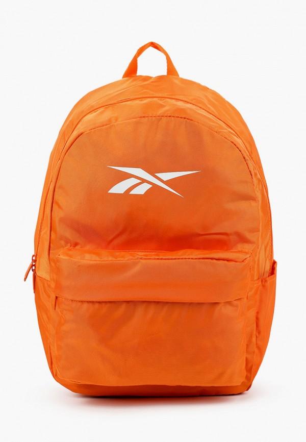женский рюкзак reebok, оранжевый