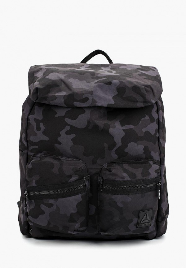 женский рюкзак reebok, черный