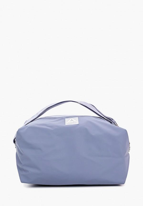 женская сумка reebok, голубая