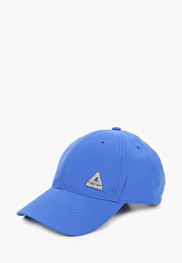 мужская бейсболка reebok, синяя