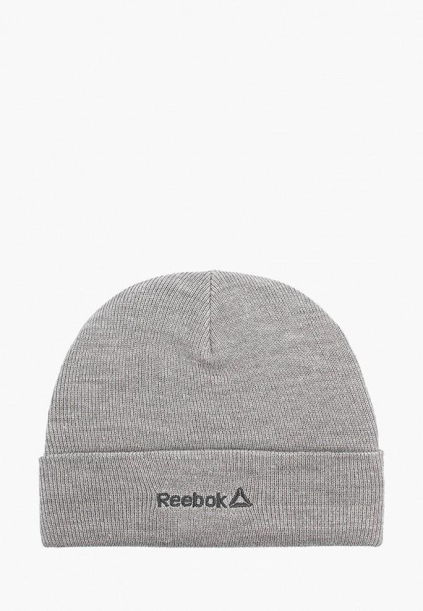мужская шапка reebok, серая