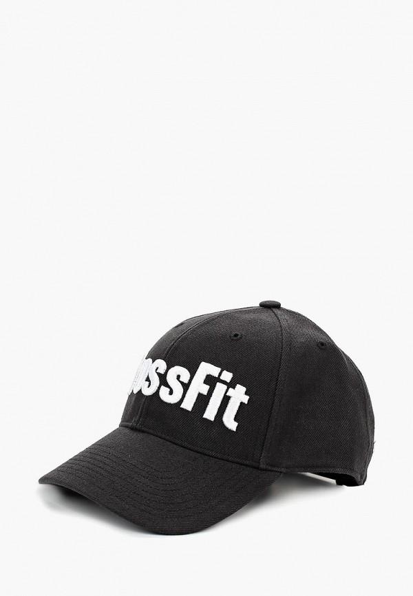 Купить Бейсболка Reebok, CF RCF CAP, RE160CUCDLY2, черный, Осень-зима 2018/2019
