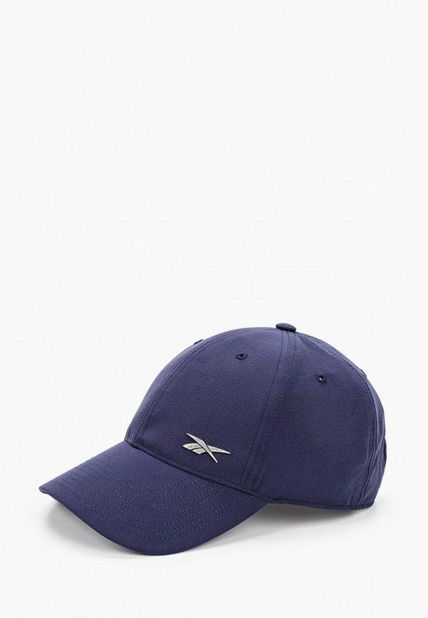 Бейсболка Reebok синего цвета