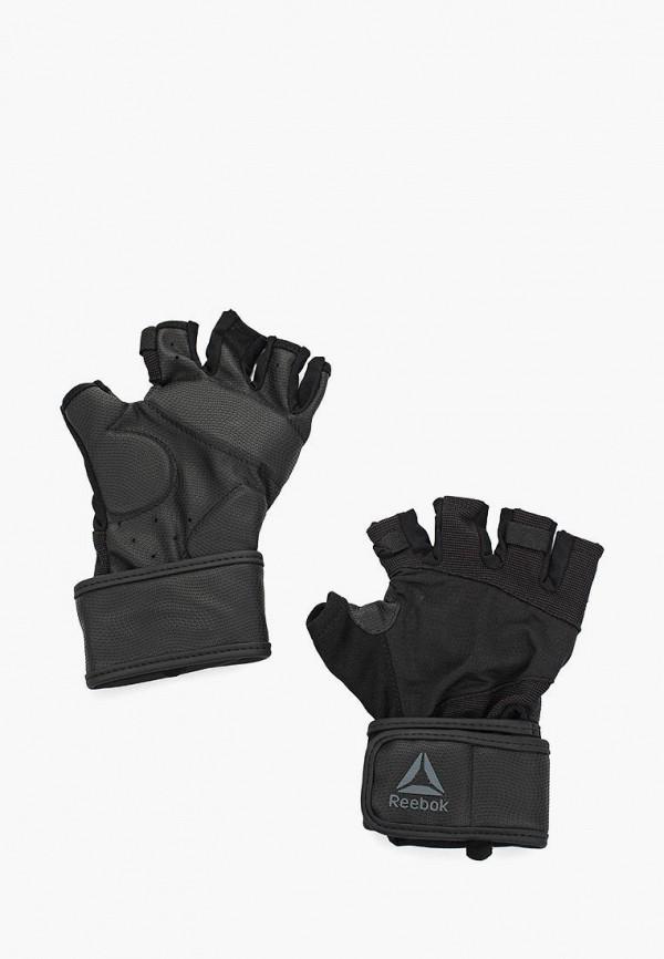 Перчатки для фитнеса Reebok Reebok RE160DUALME7 перчатки спортивные reebok перчатки для mma glove xl
