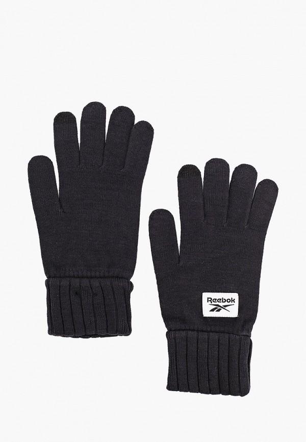 женские перчатки reebok, черные