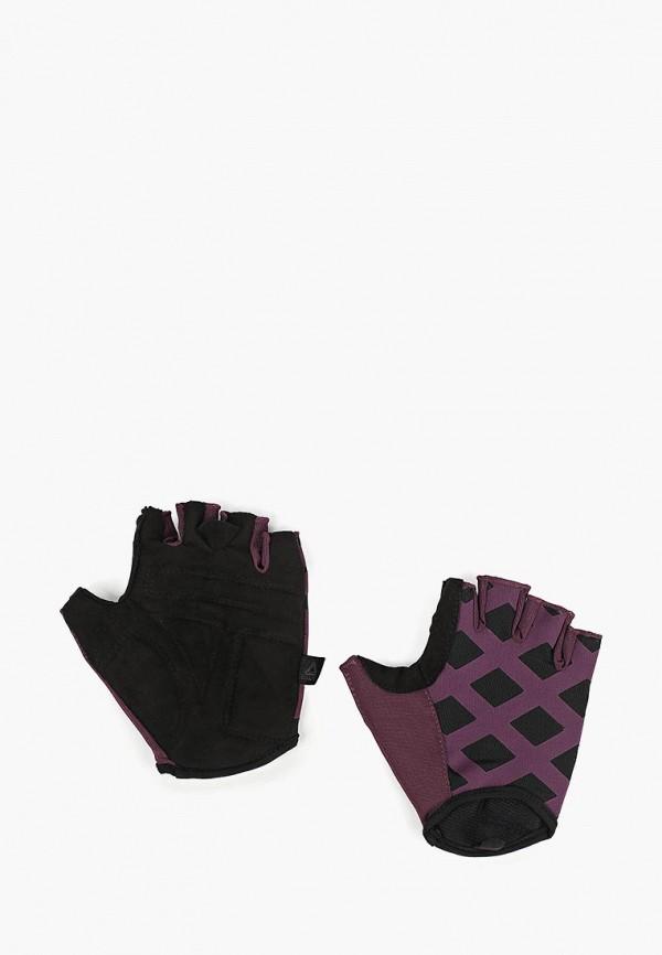 женские перчатки reebok, фиолетовые
