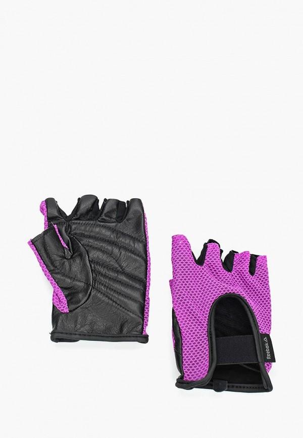 Перчатки для фитнеса Reebok Reebok RE160DWUOW87 тренировочный коврик для фитнеса reebok нескользящий цвет красный ramt 12235rd
