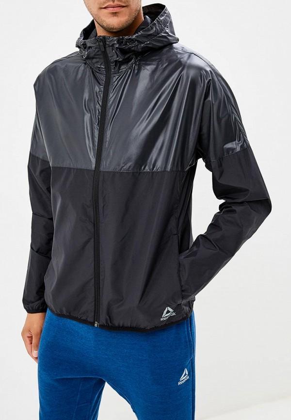Купить Куртка спортивная Reebok, WOR WV JACKET, RE160EMCDMF2, черный, Осень-зима 2018/2019