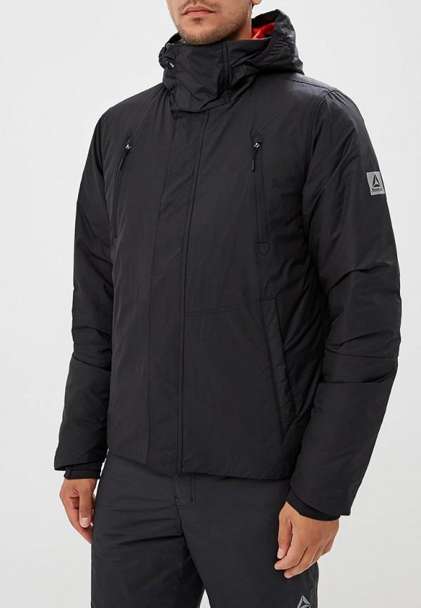 Купить Куртка утепленная Reebok, COACH PRMLFT JCKT, RE160EMCDMG4, черный, Осень-зима 2018/2019