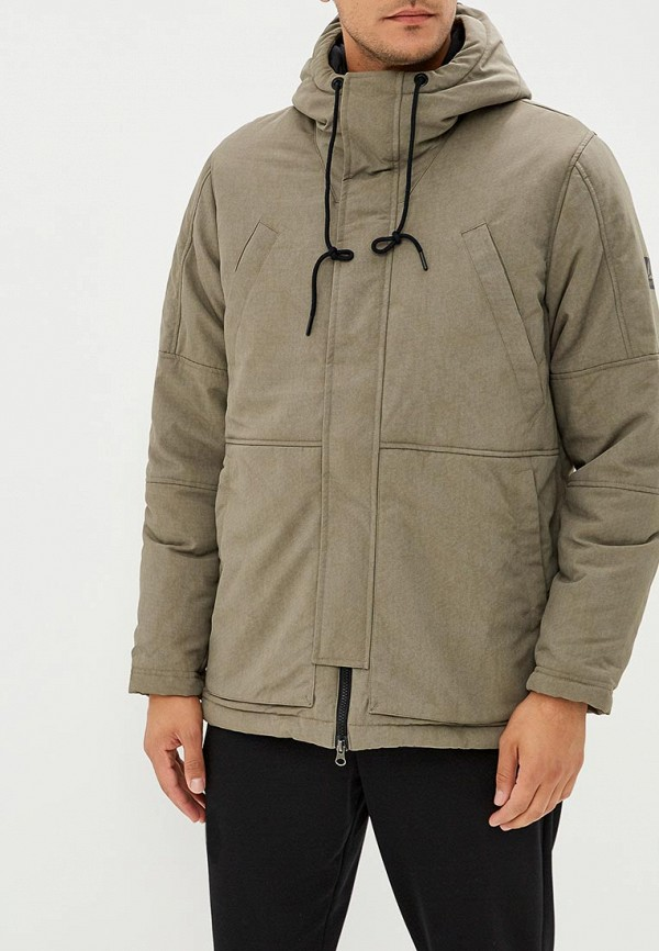 Купить Куртка утепленная Reebok, OD PAD PRKA, RE160EMCDMH9, серый, Осень-зима 2018/2019