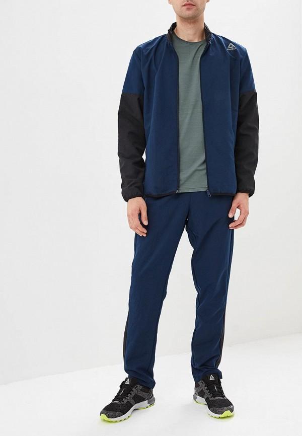 мужской спортивные спортивный костюм reebok, синий