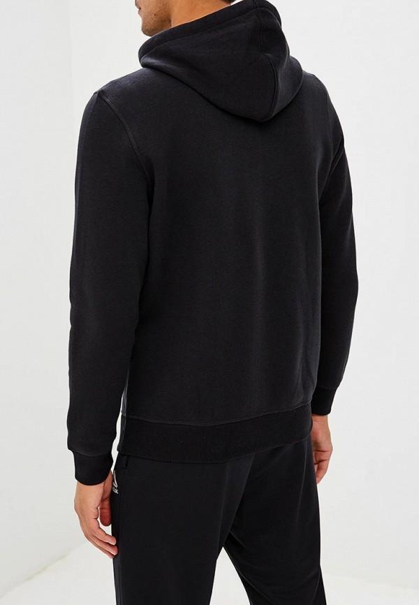 Фото 3 - мужскую толстовку Reebok черного цвета