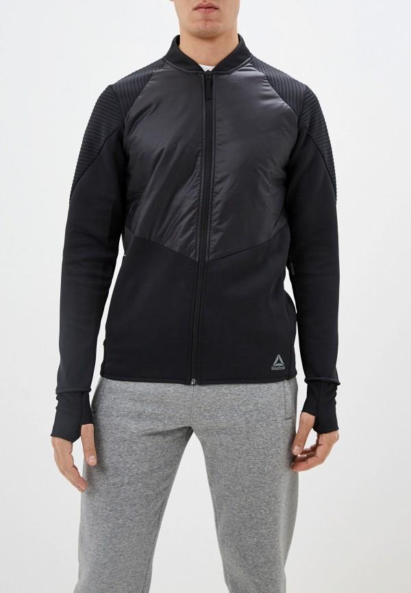 мужская олимпийка reebok, черная