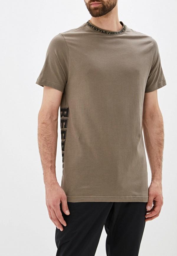 Фото - Мужскую футболку Reebok цвета хаки