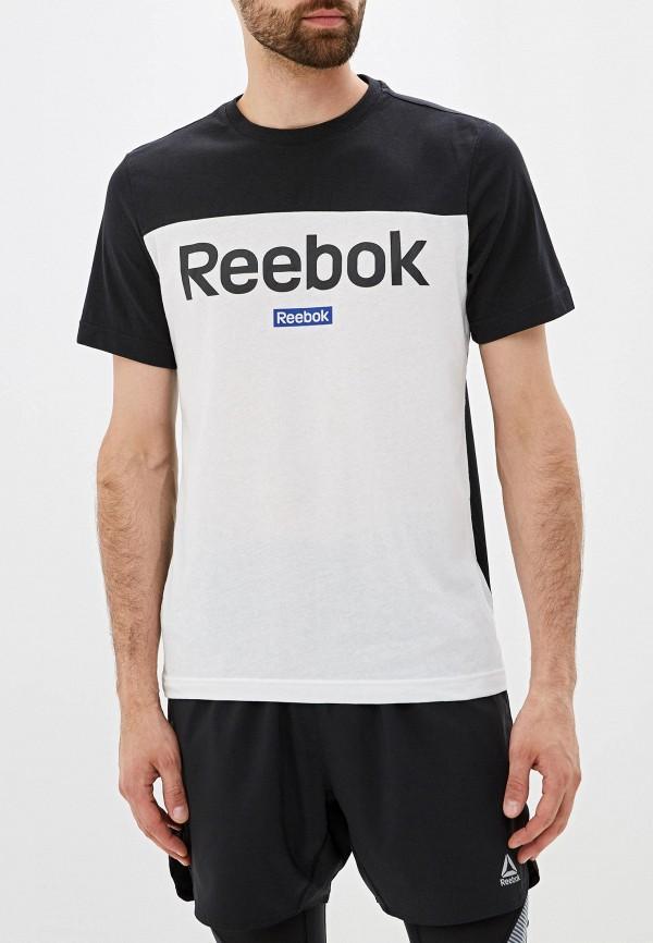 Фото - Мужскую футболку Reebok разноцветного цвета