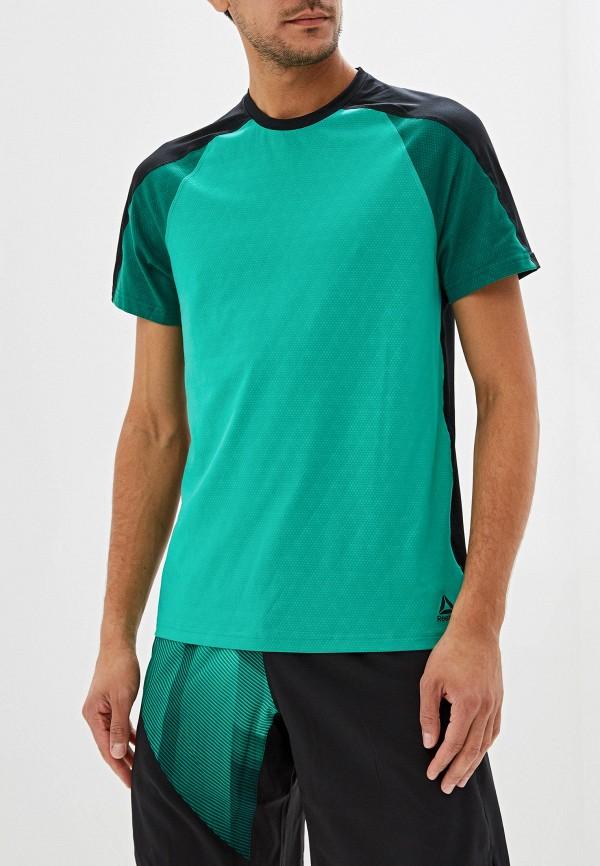 Футболка спортивная Reebok Reebok RE160EMFKLN8 цены онлайн