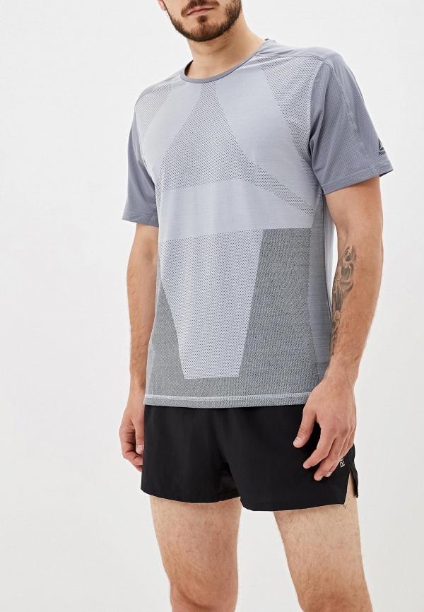мужская спортивные футболка reebok, серая