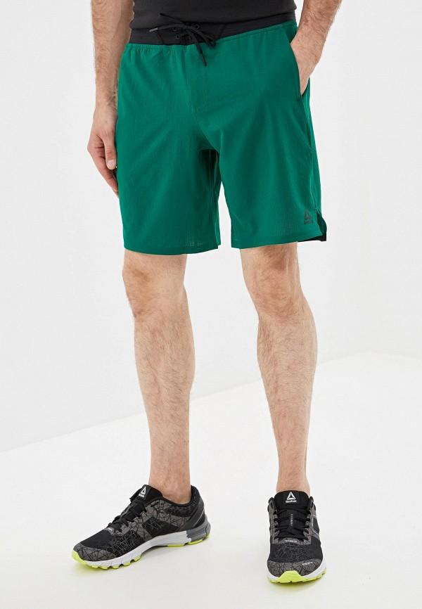 Фото - Шорты спортивные Reebok зеленого цвета