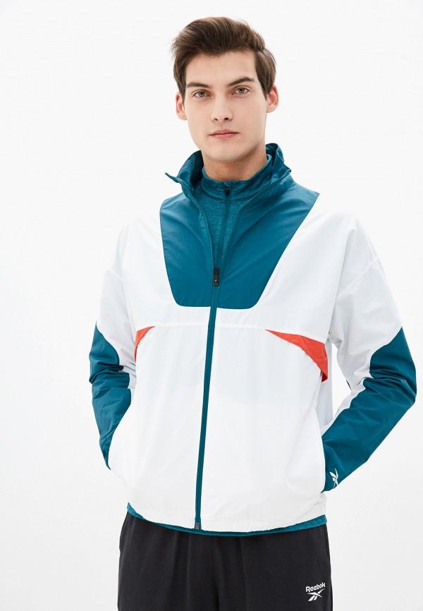 мужская куртка reebok, разноцветная