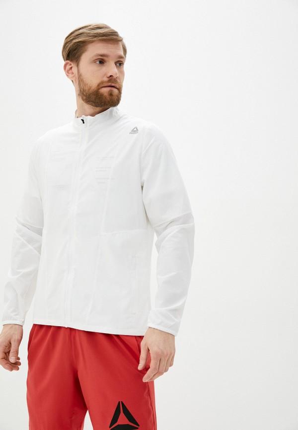 мужская куртка reebok, белая