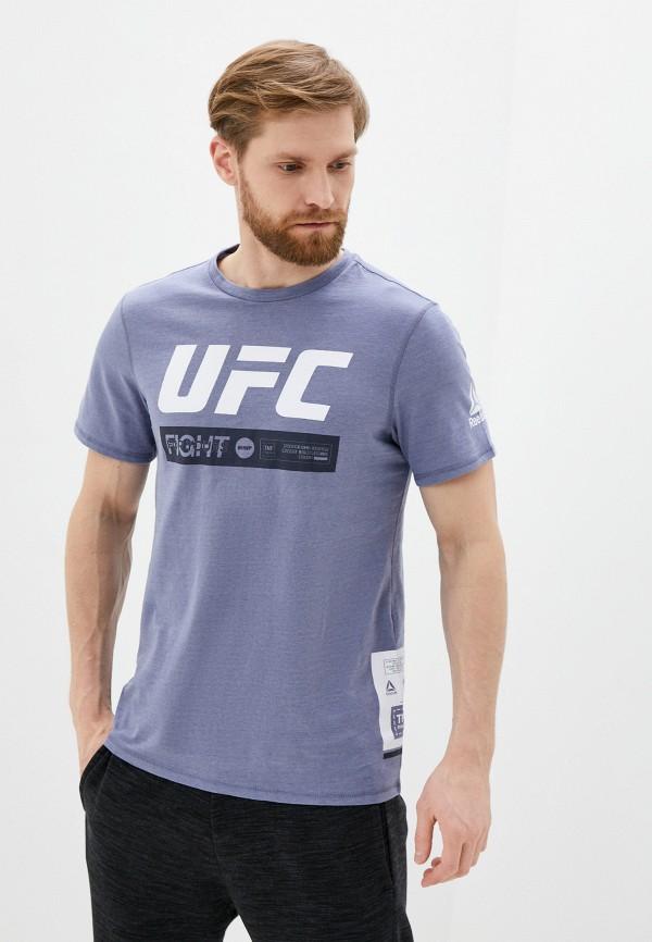 мужская футболка reebok, синяя