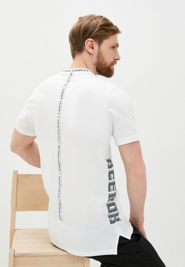 мужская футболка reebok, белая