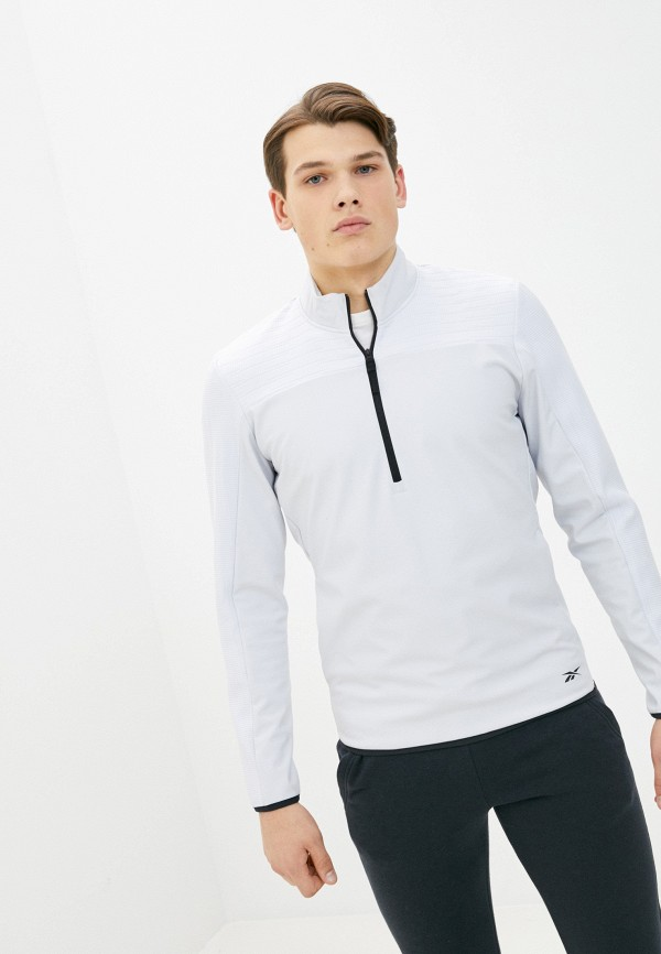 мужская спортивные олимпийка reebok, белая