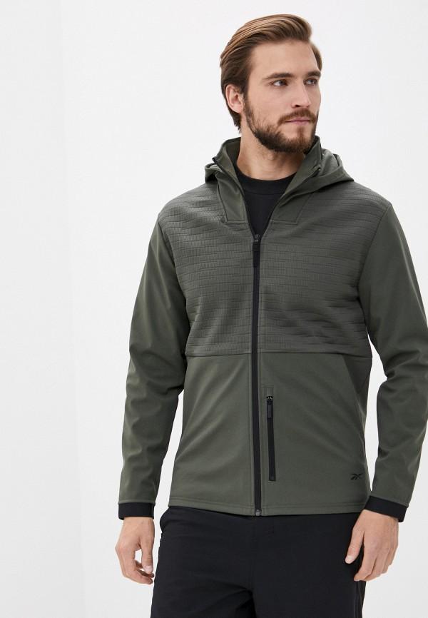 мужская куртка reebok, хаки
