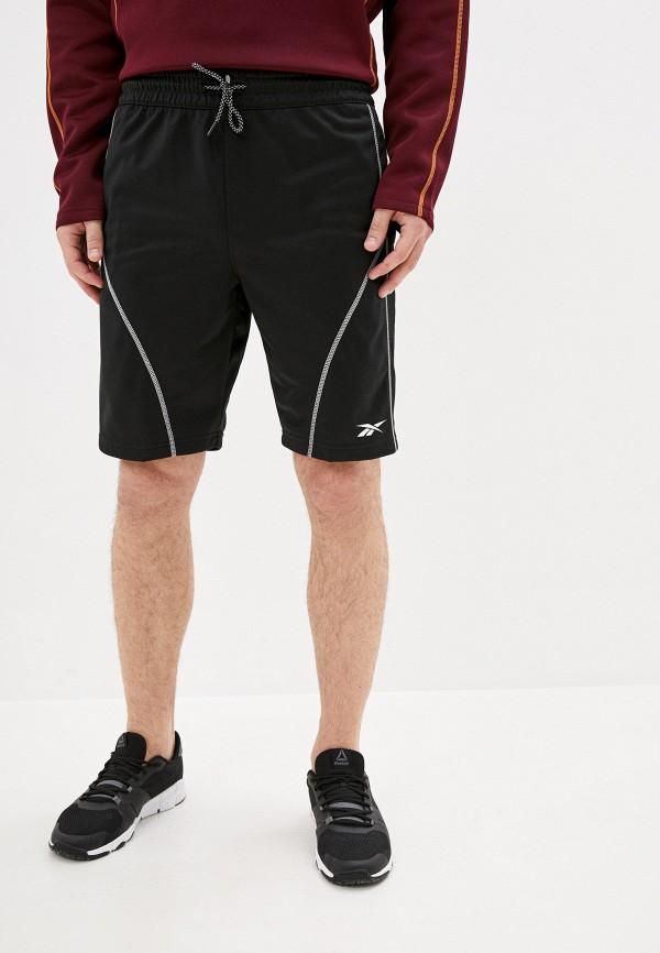 мужские спортивные шорты reebok, черные