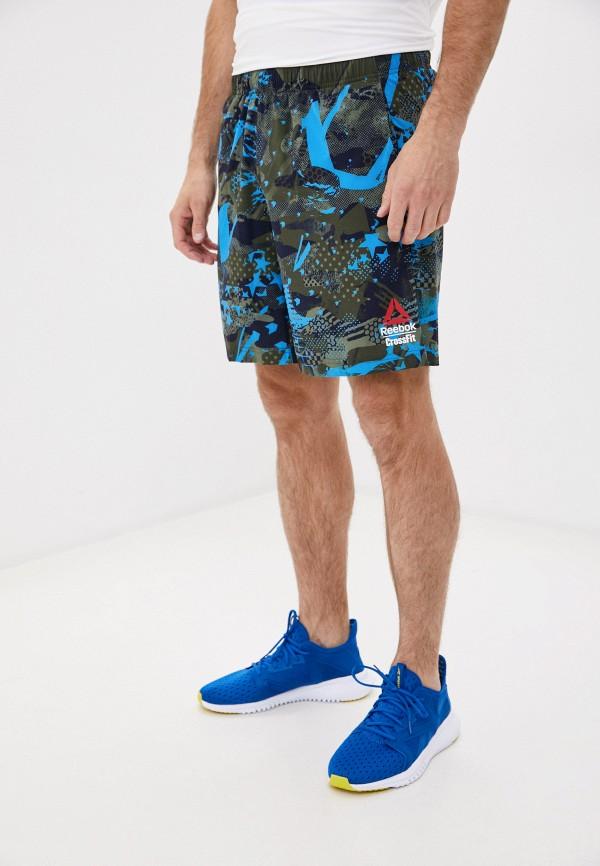 мужские спортивные шорты reebok, хаки