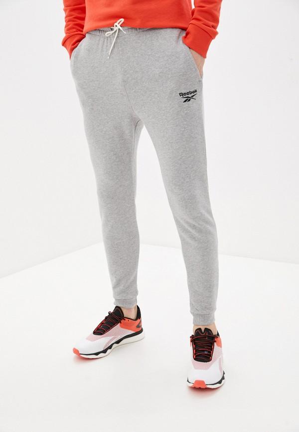 мужские спортивные брюки reebok, серые