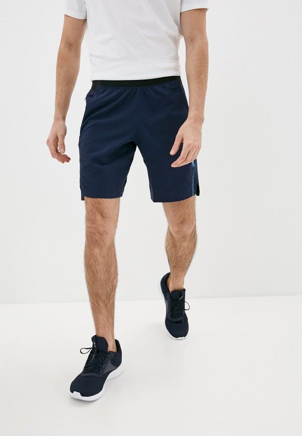 мужские спортивные шорты reebok, синие