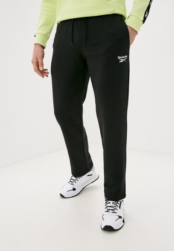 мужские спортивные брюки reebok, черные