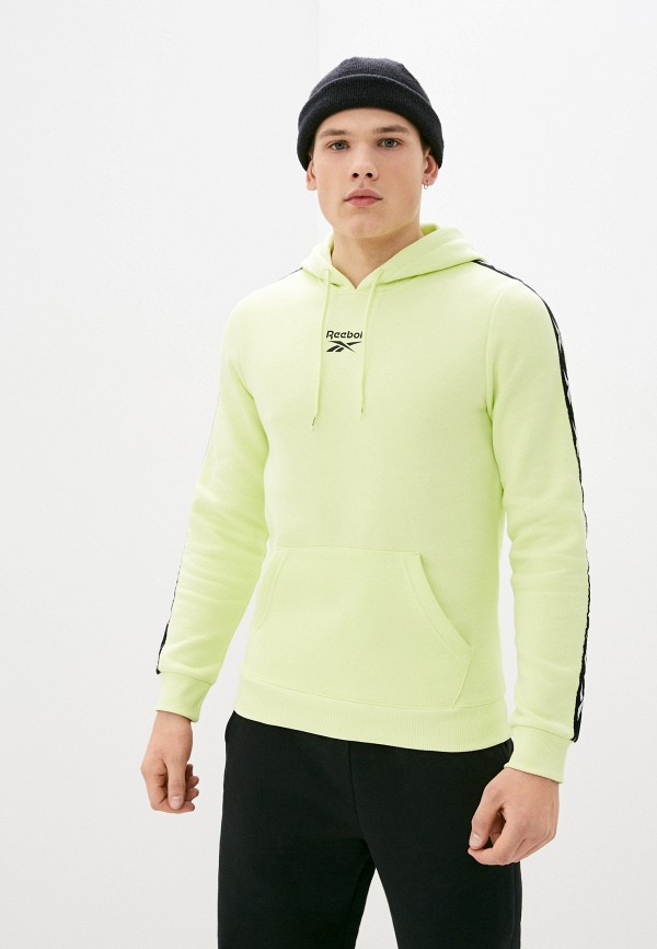 мужские худи reebok, зеленые